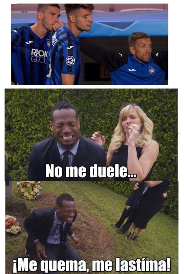 Memes de los cratos de final de la Champions League