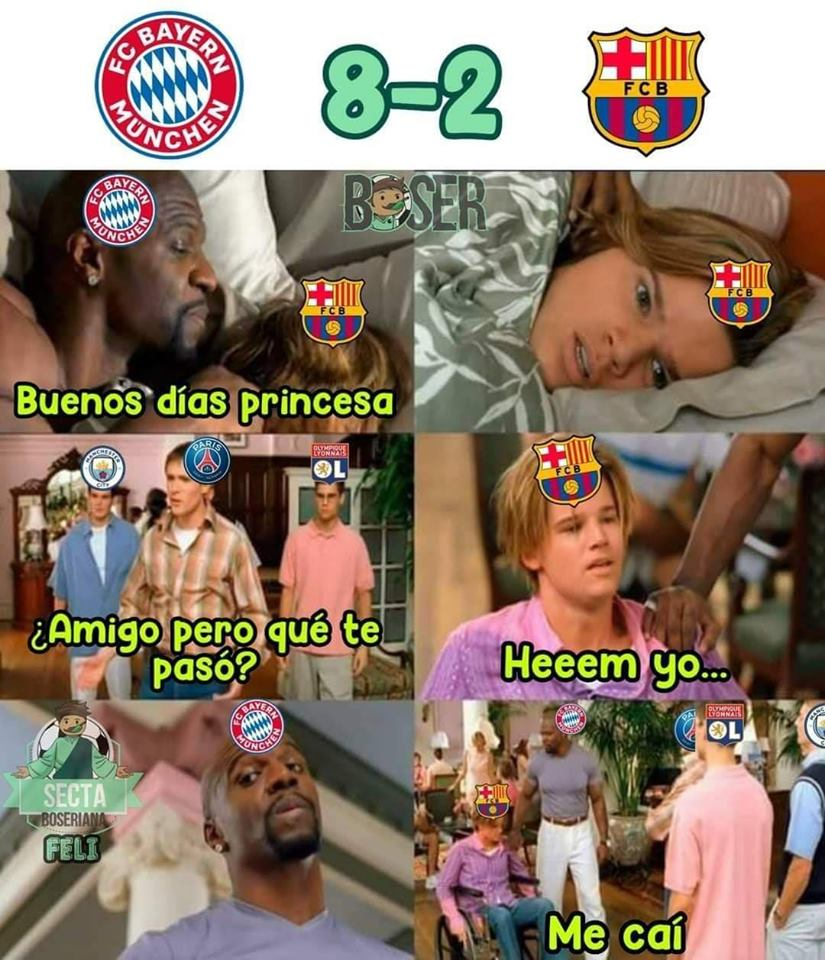 Memes de los cratos de final de la Champions League