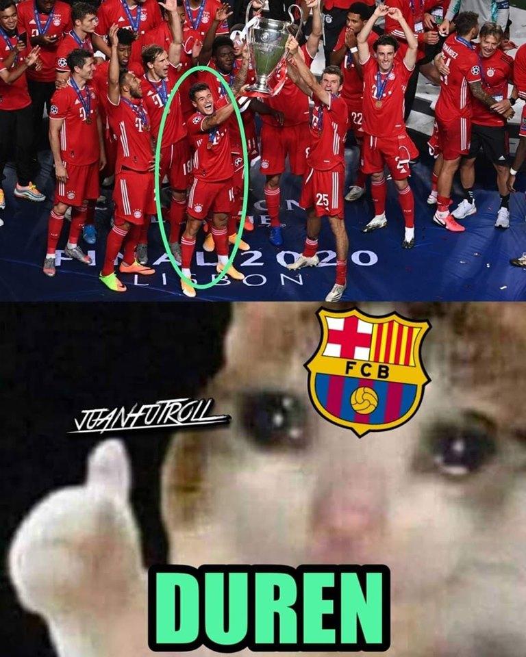 Memes de la final de la Champions League