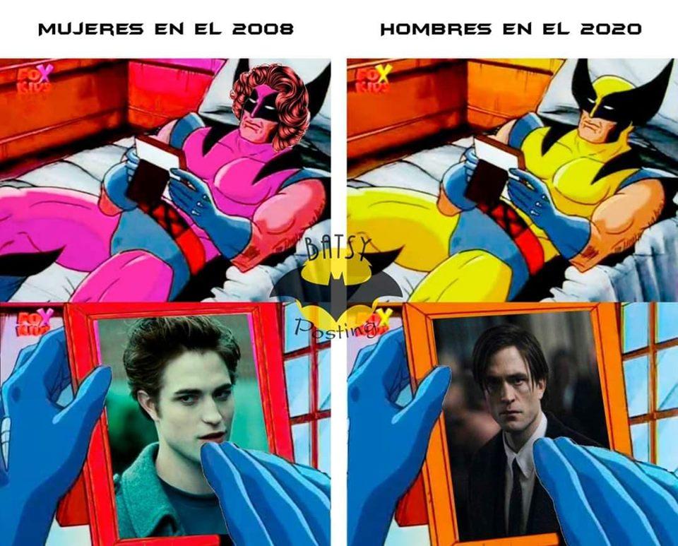 Memes del trailer de Batman de Robert Pattinson