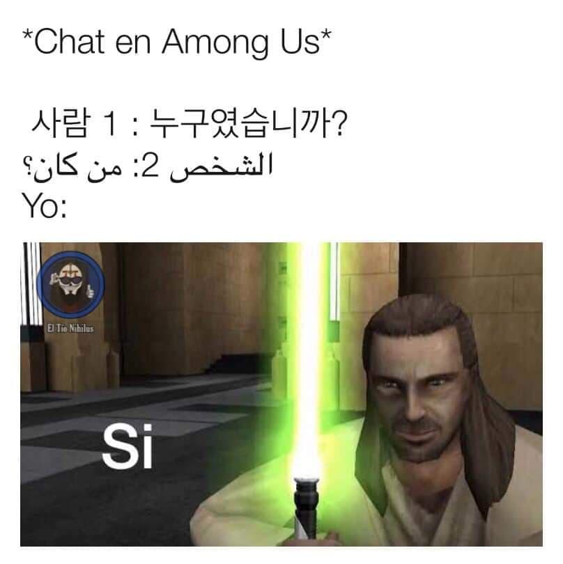 Memes de Among Us