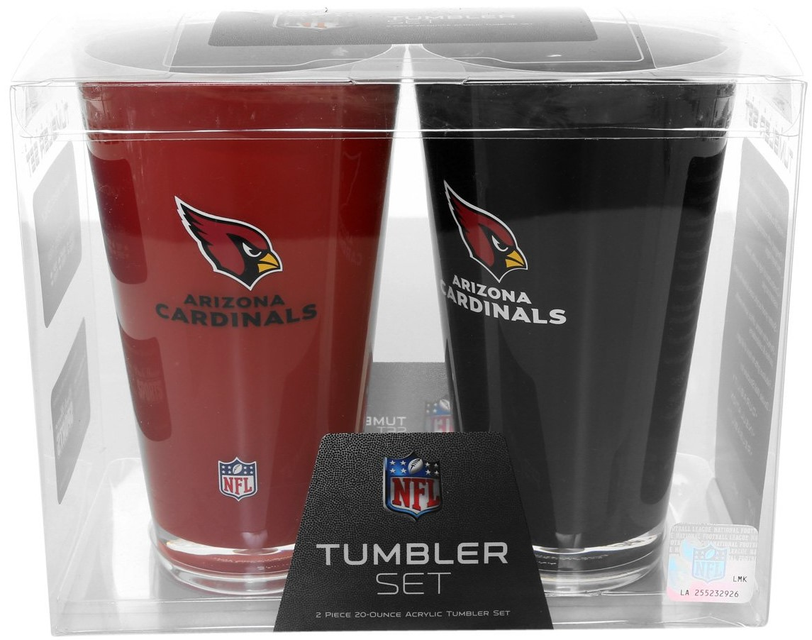 Set de vasos NFL Arizona Cardinals