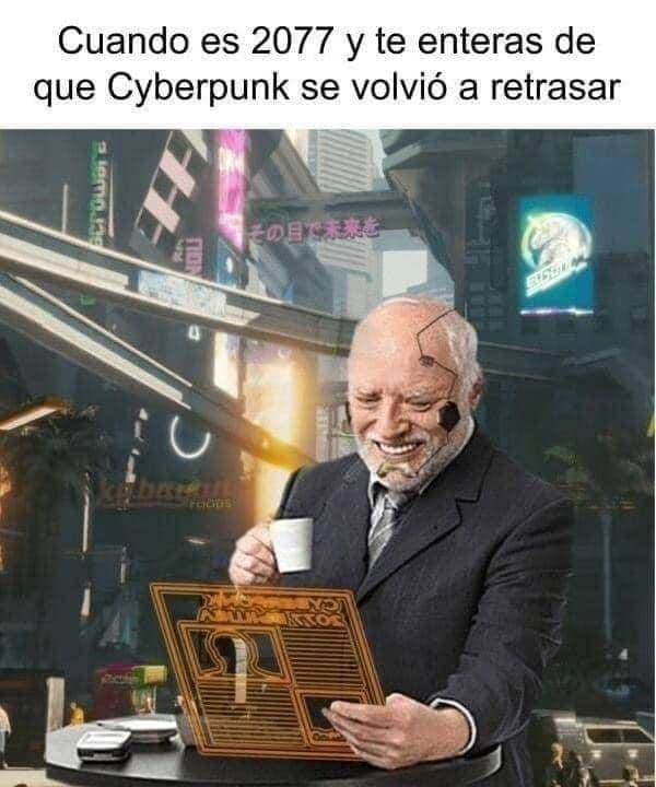Cyberpunk se retrasa... otra vez