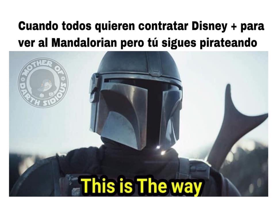 Memes de Disney Plus