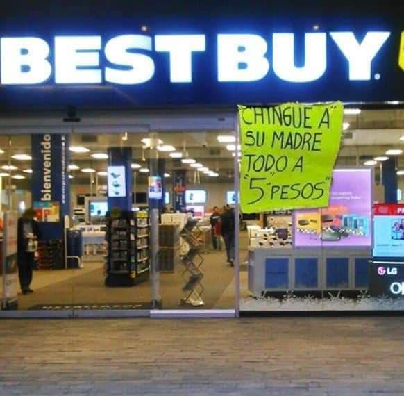 Memes de las rebajas en Best Buy