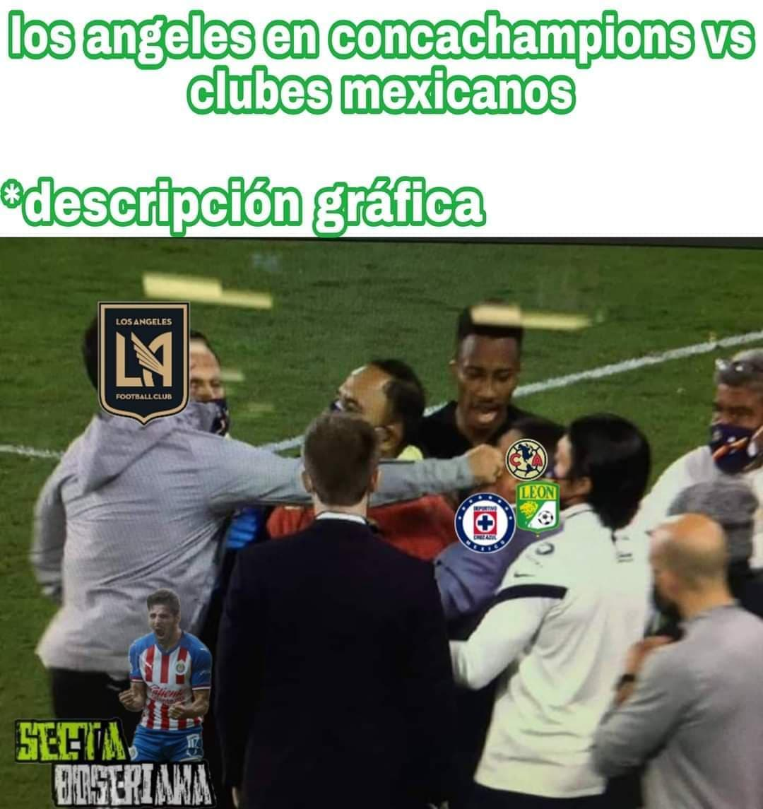 Memes del LAFC vs América