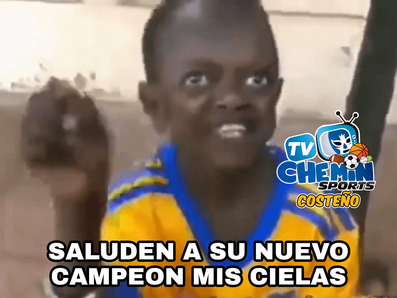 Memes de Tigres campeón de Concachampions
