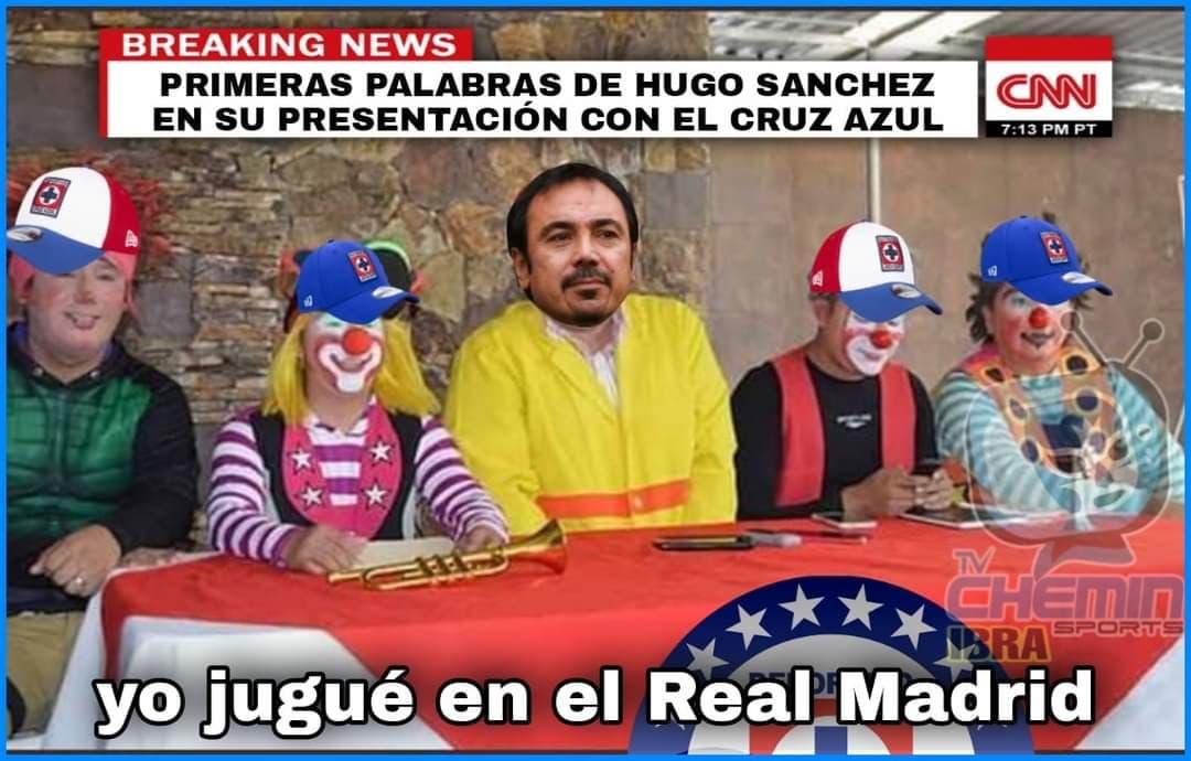 Hugo Sánchez, ¿D.T. de Cruz Azul?