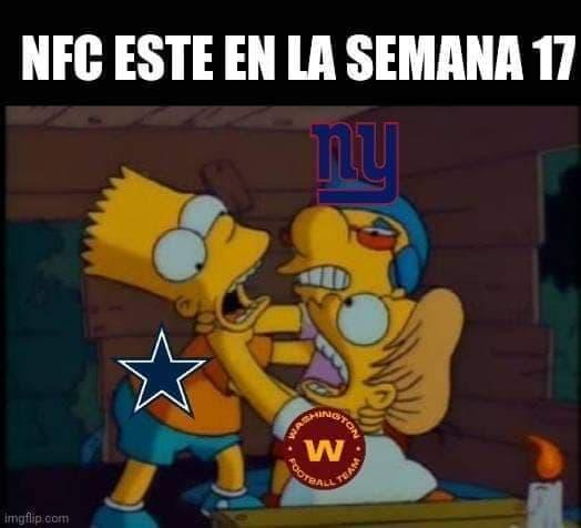 Memes de la NFL, Semana 17