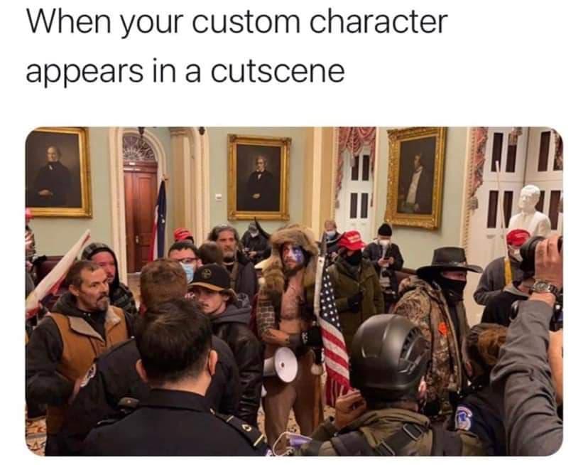 Memes de los disturbios en el capitolio de Estados Unidos