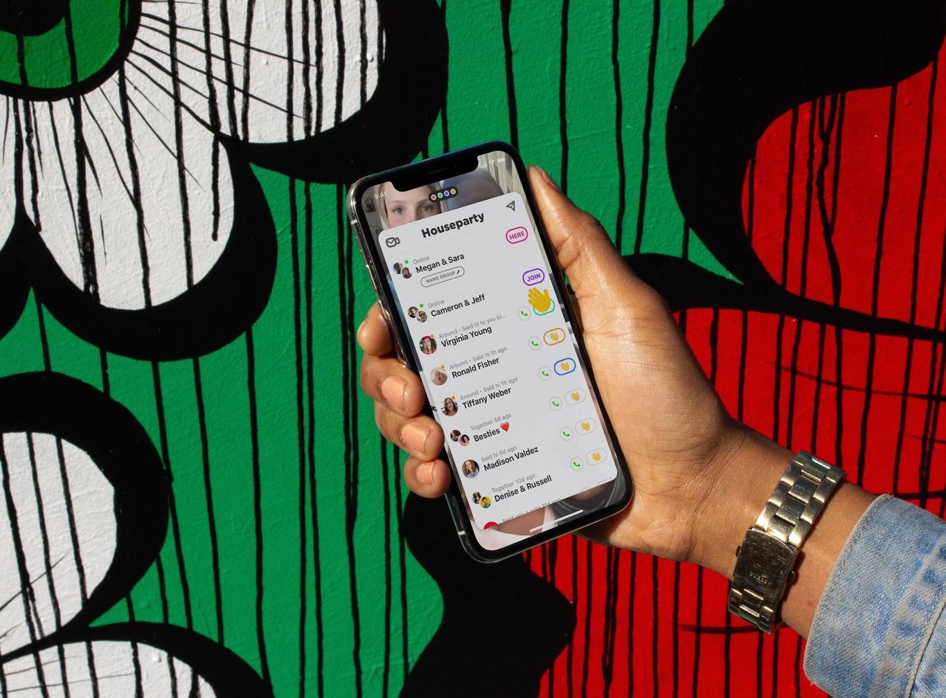 Houseparty: app de videollamadas y juegos en grupo