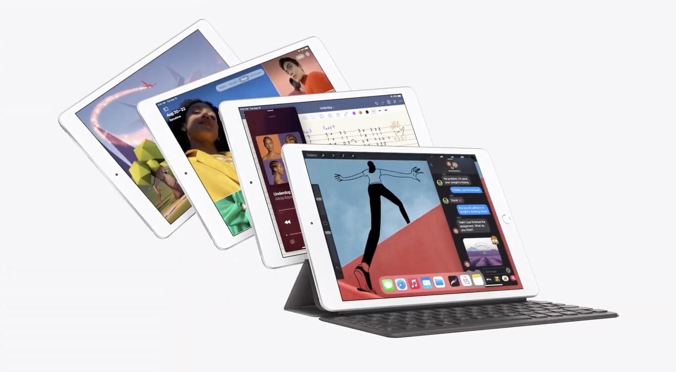 Apple presenta el iPad 8va generación y iPad Air 4