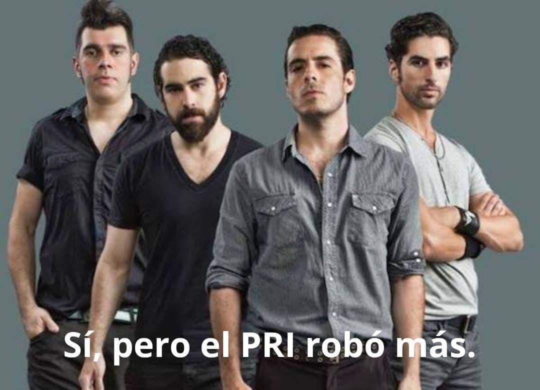 El PRI robó más memes