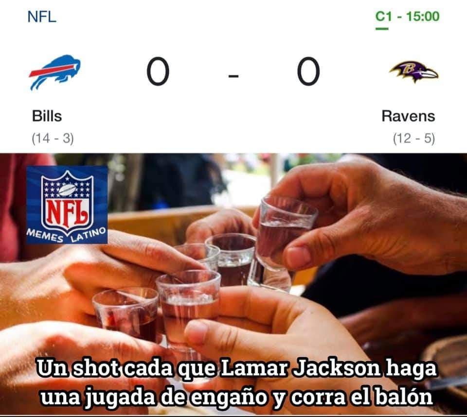 Memes de las rondas divisionales de la NFL