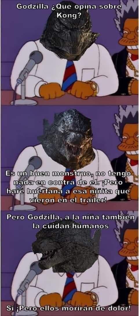 Memes de Godzilla vs King Kong