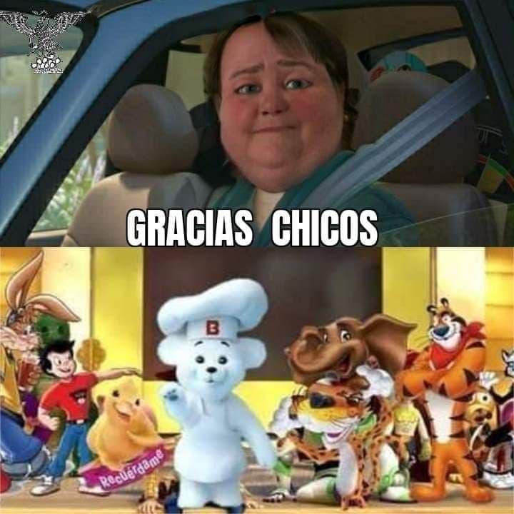 Memes de los personajes de cereal