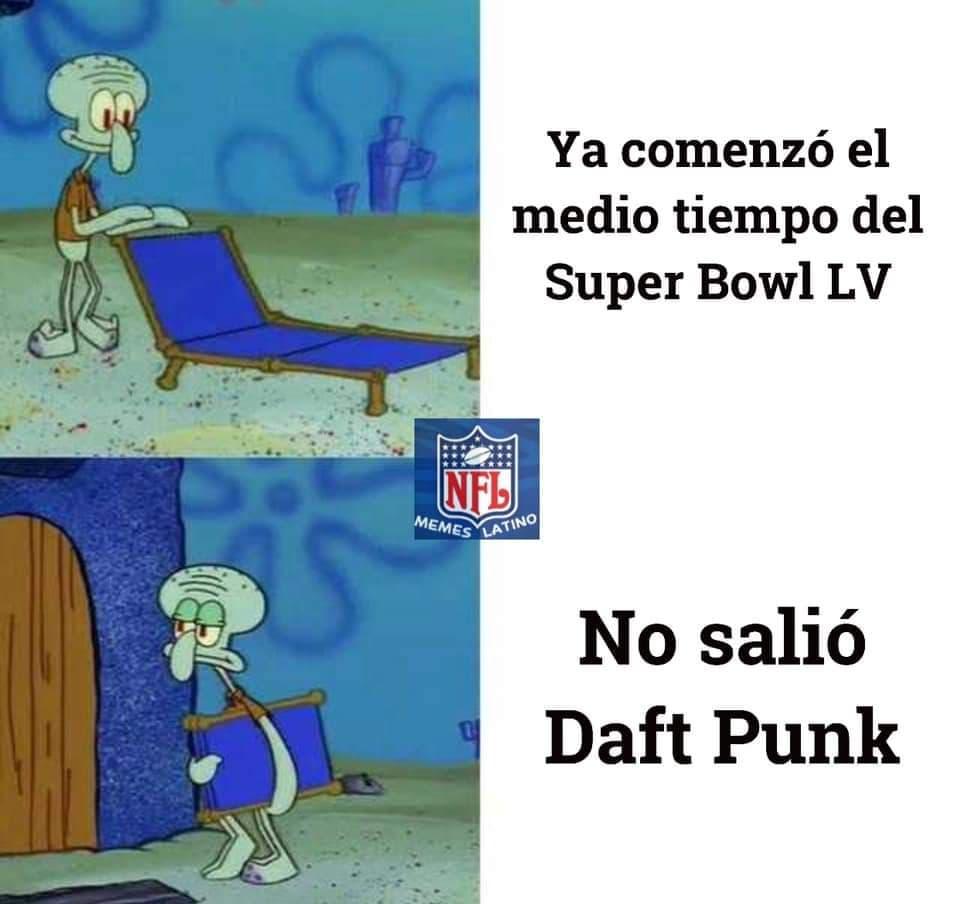 Memes del Show del Medio Tiempo del Super Bowl LV