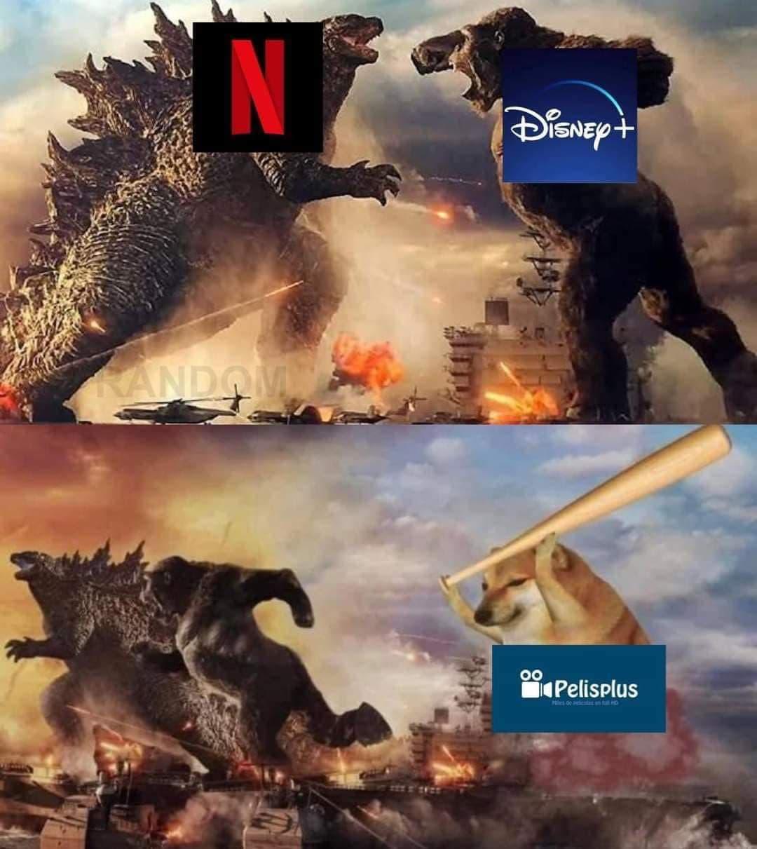 Memes Godzilla vs King Kong