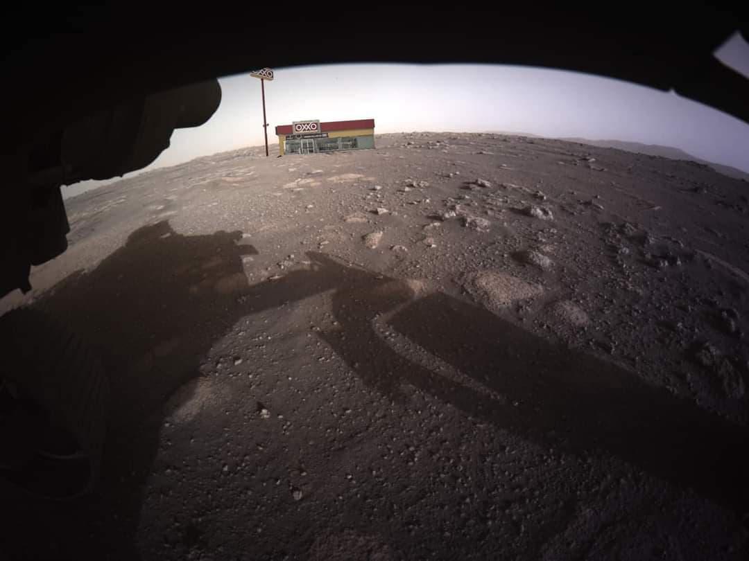 Rover Perseverance llega a Marte