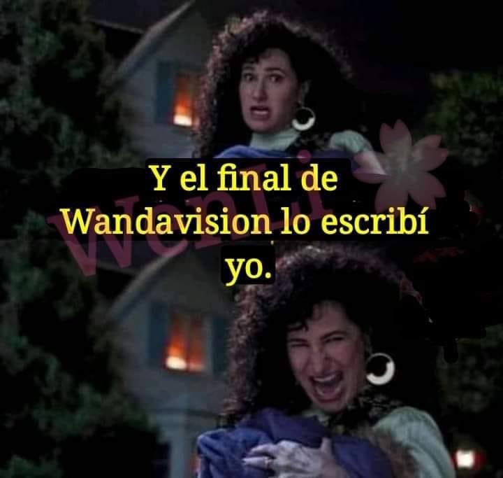 Memes del final de Wandavision