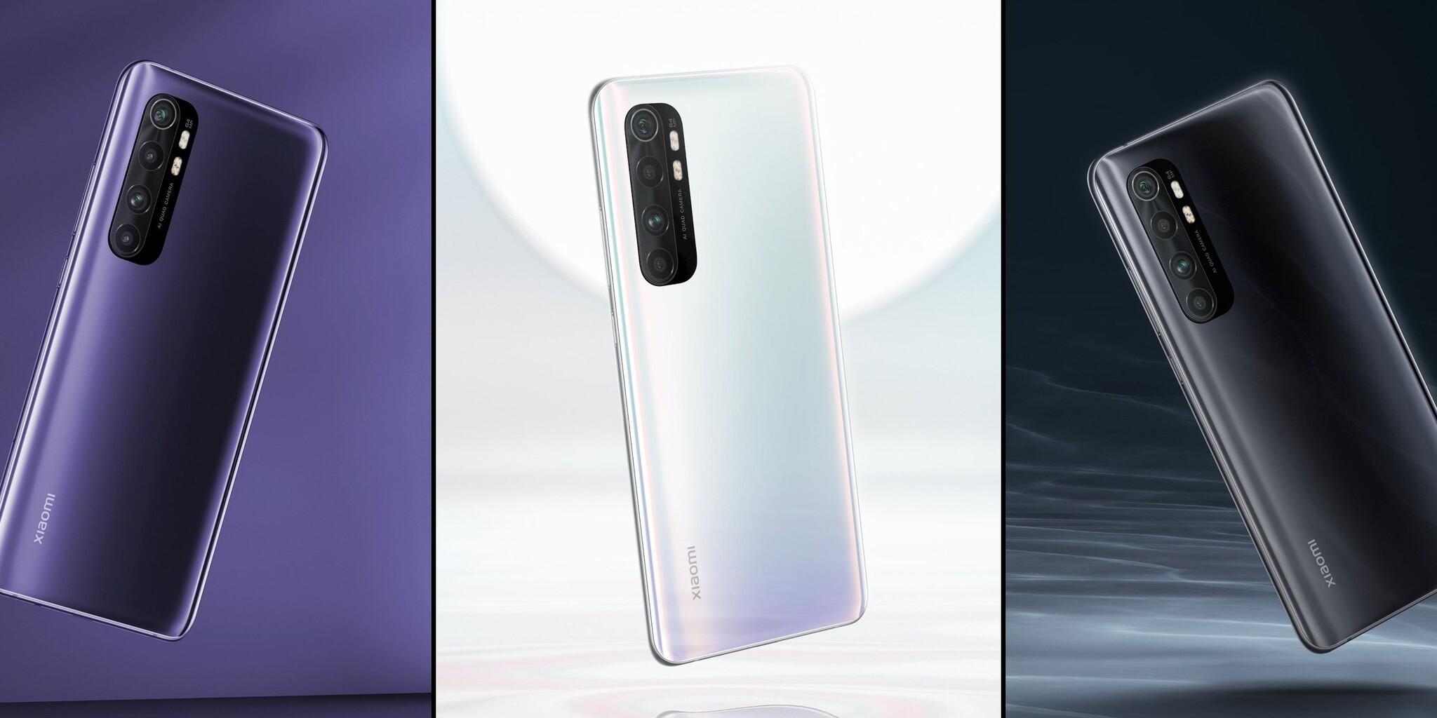 Xiaomi Mi Note 10 Lite: ficha técnica y comparativa ¿conviene comprarlo?