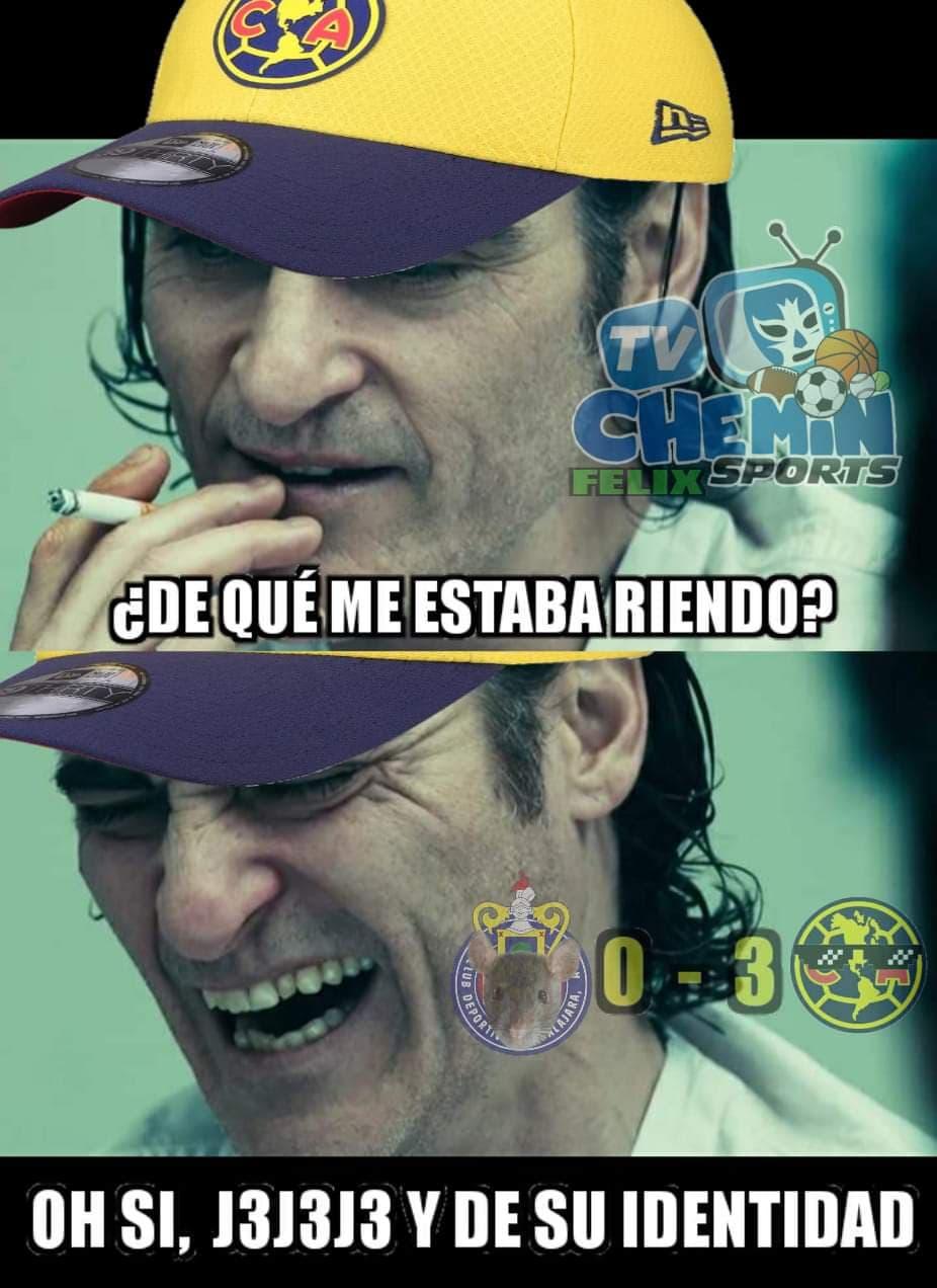 Memes del América vs Chivas y la Jornada 11 de Liga MX