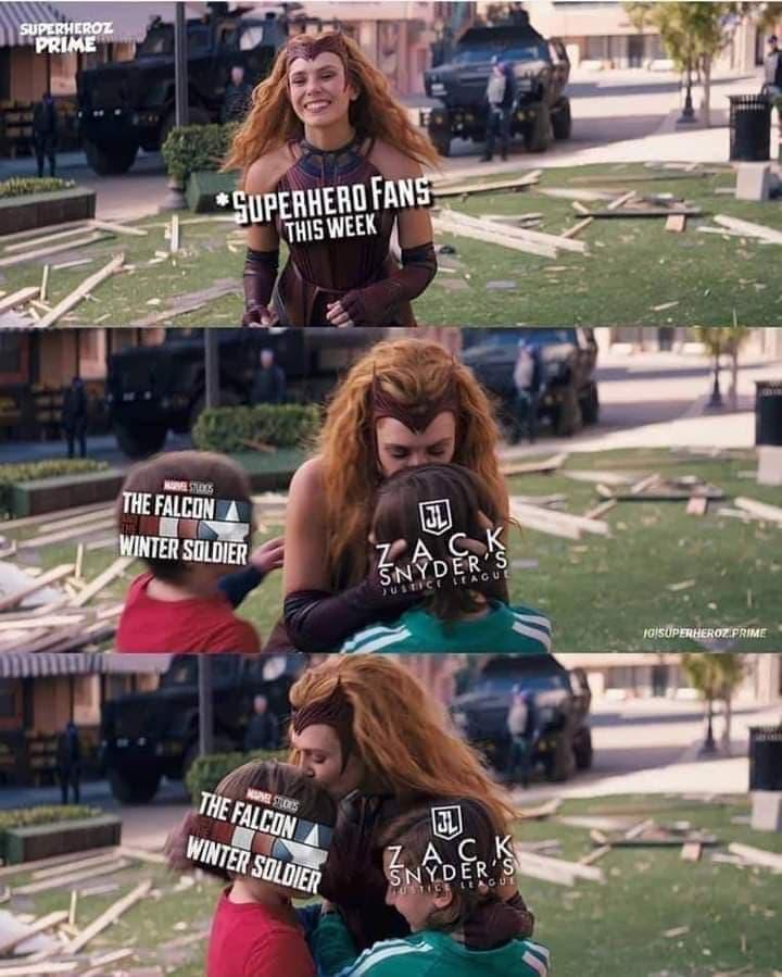 Memes de Justice League de Zack Snyder