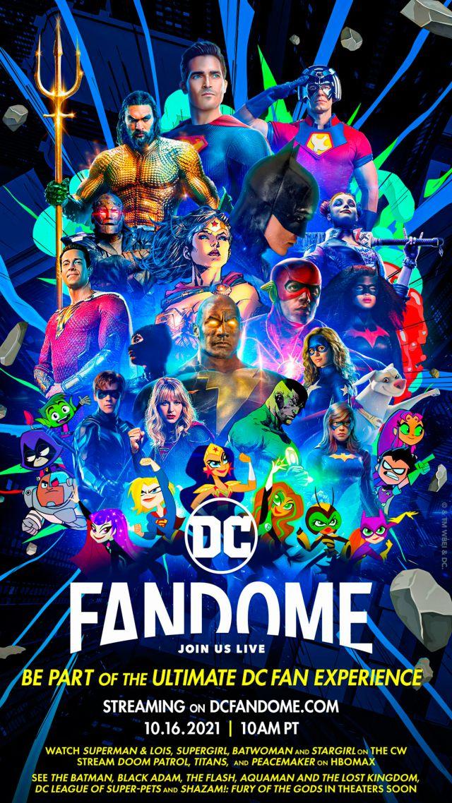 DC FanDome 2021: Lista de talentos invitados