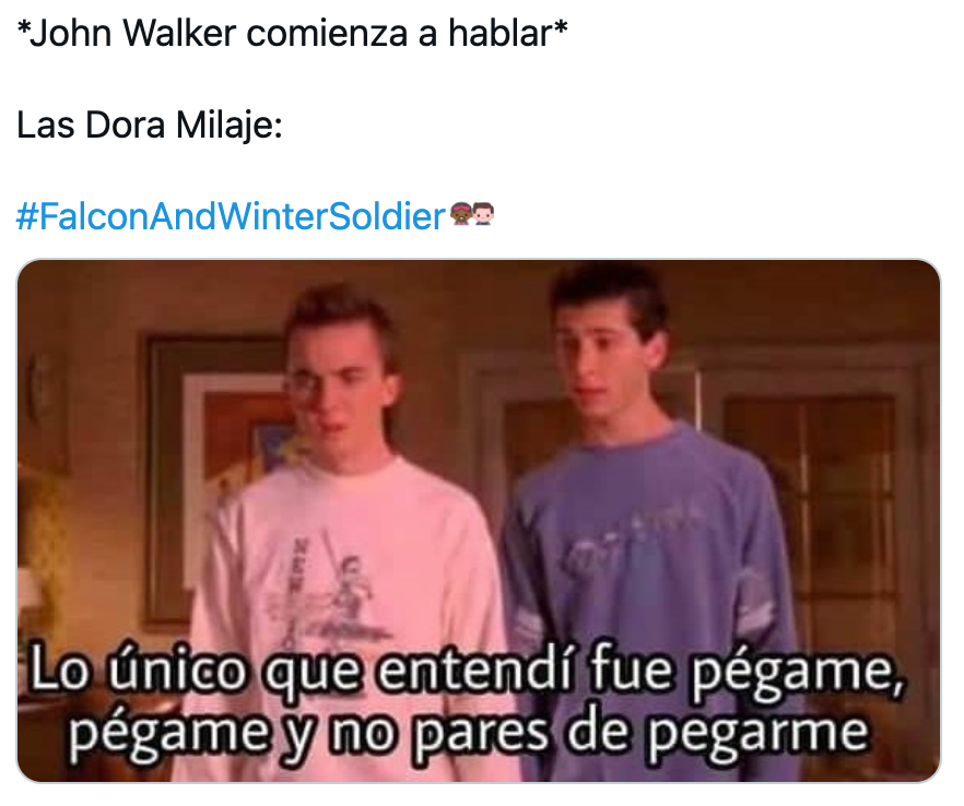 Memes de Falcon and the Winter Soldier