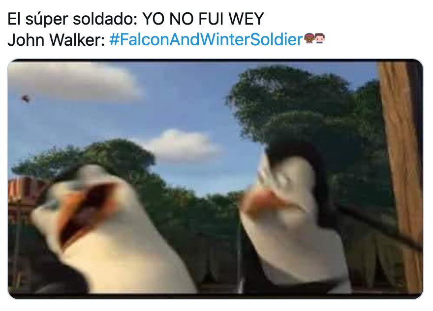 Memes de Falcon and the Winter Soldier
