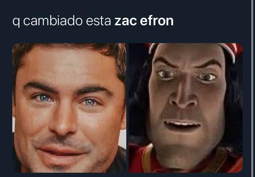 Memes de Zac Efron