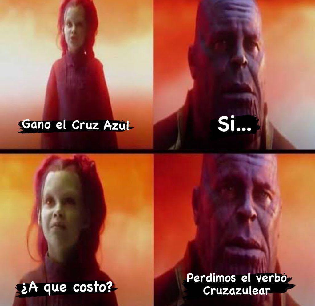 Memes del Cruz Azul Campeón de Liga MX