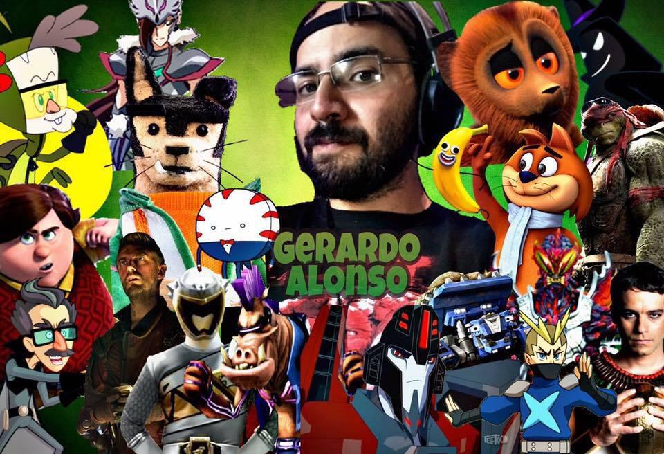 Personajes de Gerardo Alonso