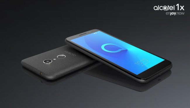 Alcatel 1X negro satinado