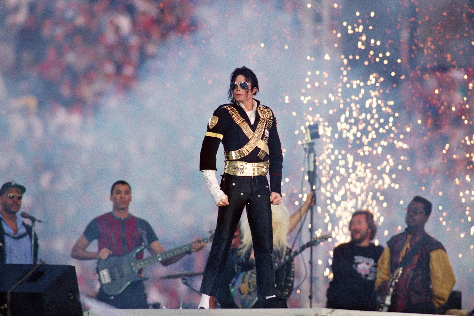 Michael Jackson Super Bowl XXVII