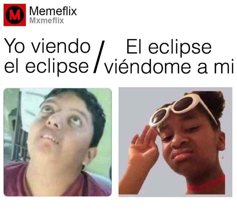Memes del eclipse