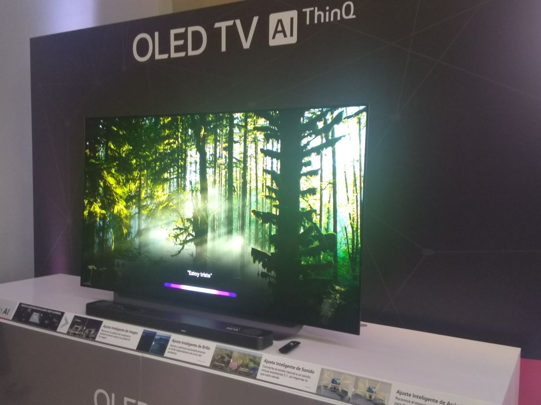 LG TV IA ThinQ 2019 con inteligencia artificial