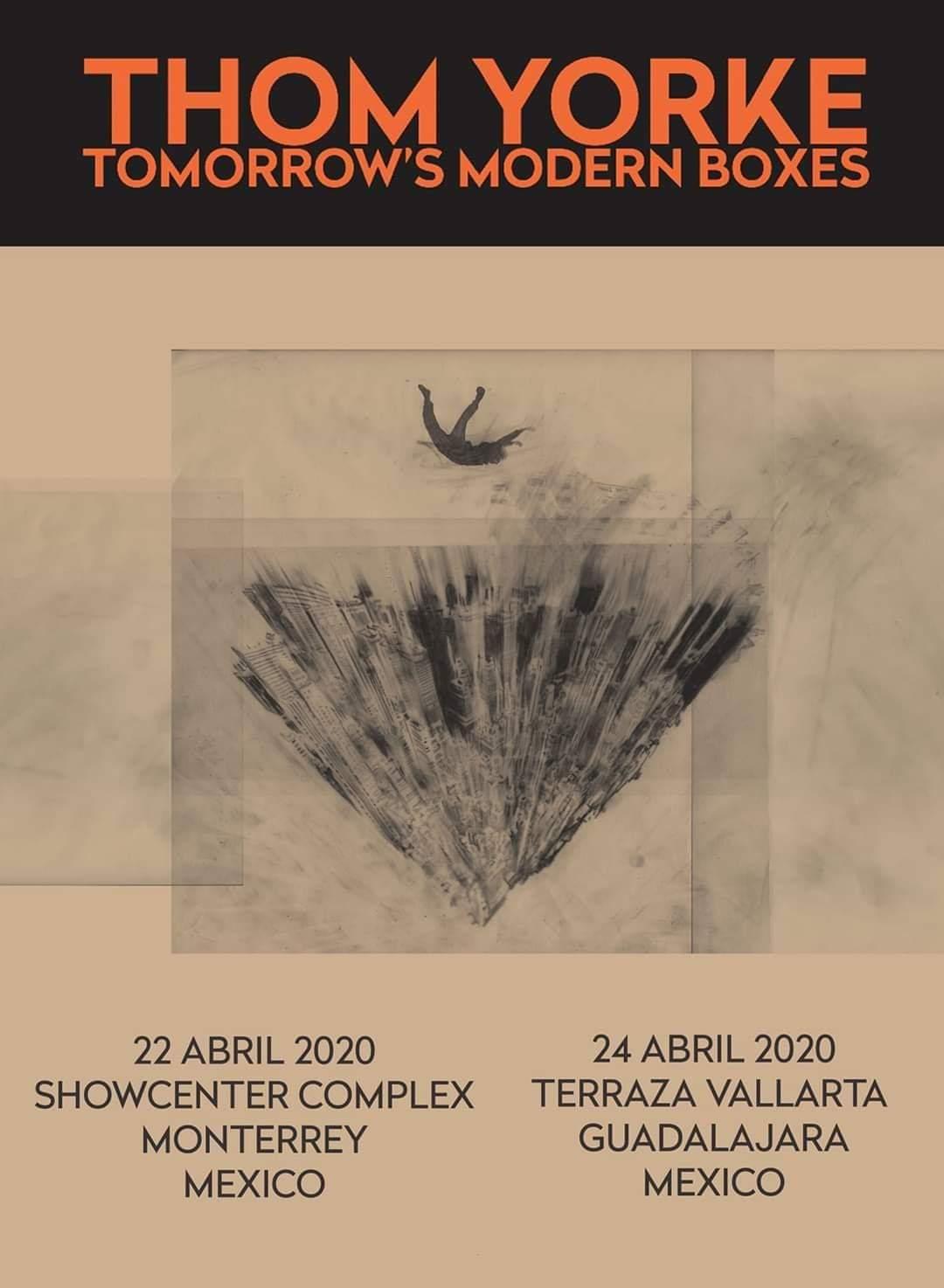 Thom Yorke México 2020