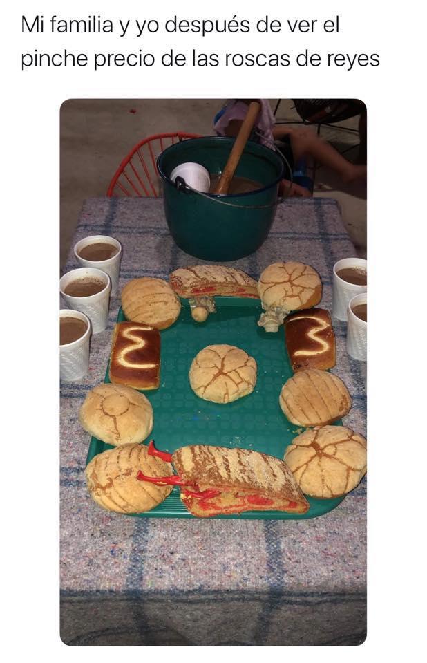 Memes de la Rosca de Reyes