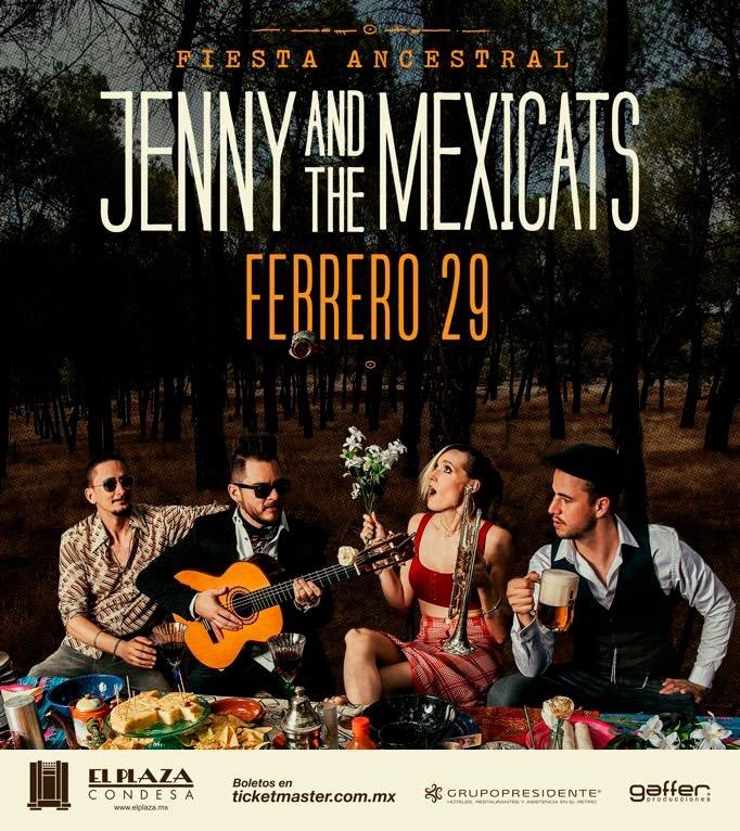 Jenny and the Mexcats Fiesta Ancestral2020