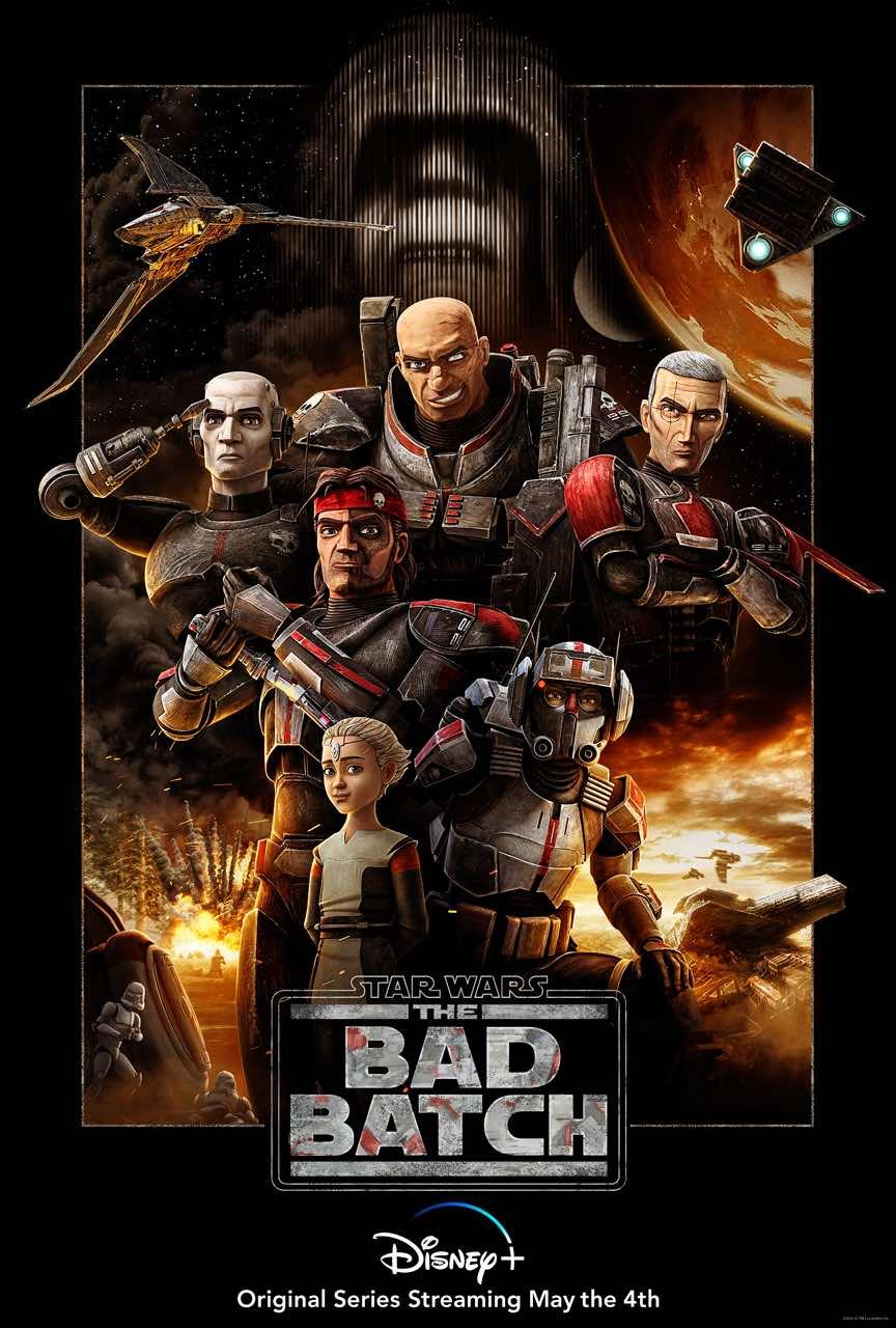 The Bad Batch: Todo lo que debes saber sobre la nueva serie de Star Wars