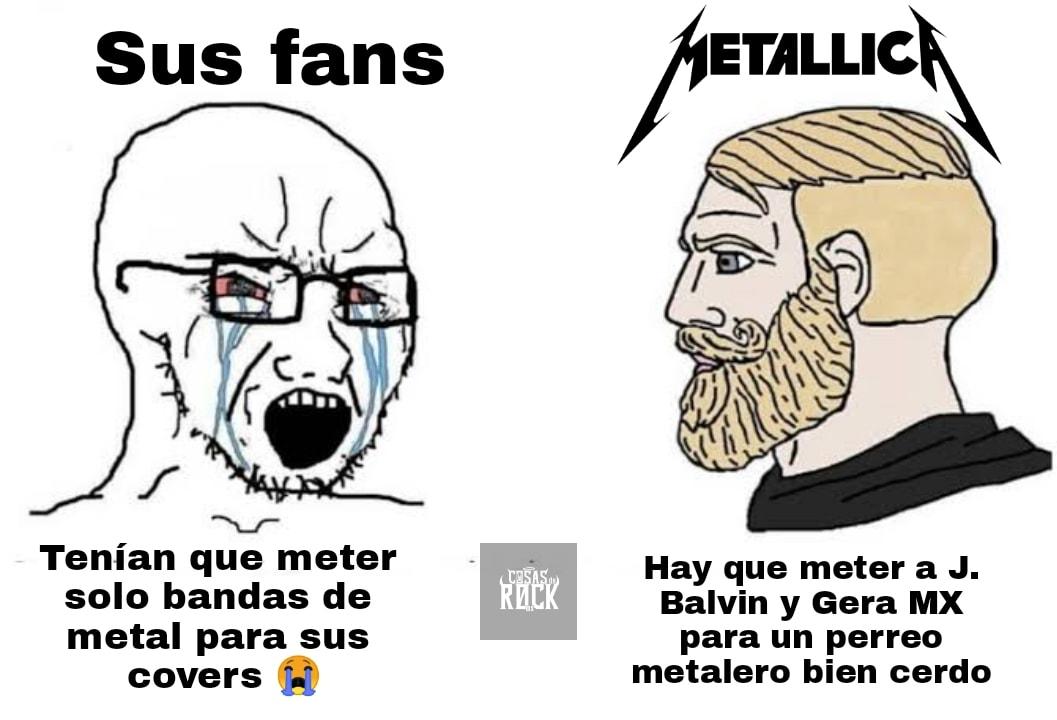 Memes de Metallica