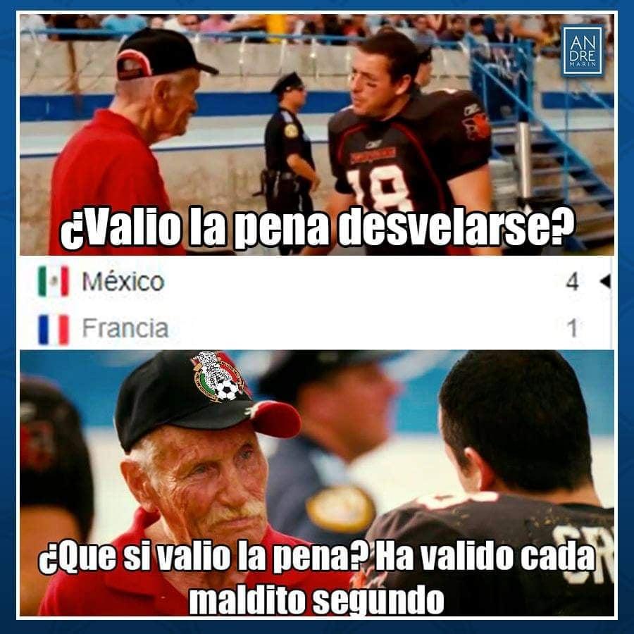 Memes del Mexico vs Francia en Juegos Olímpicos