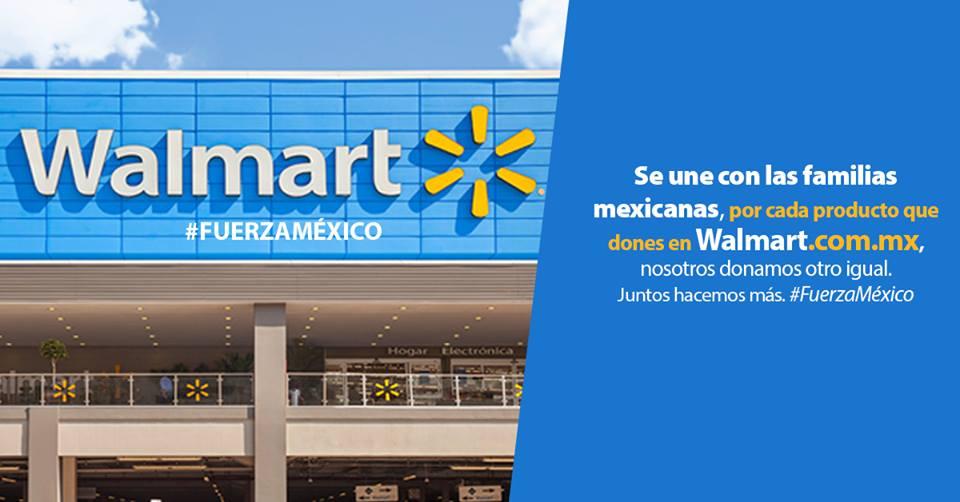 Comunicado ayuda Walmart
