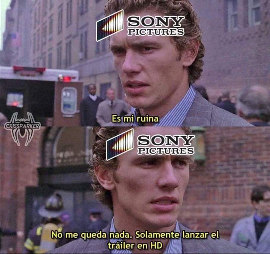 Memes del tráiler filtrado de Spiderman