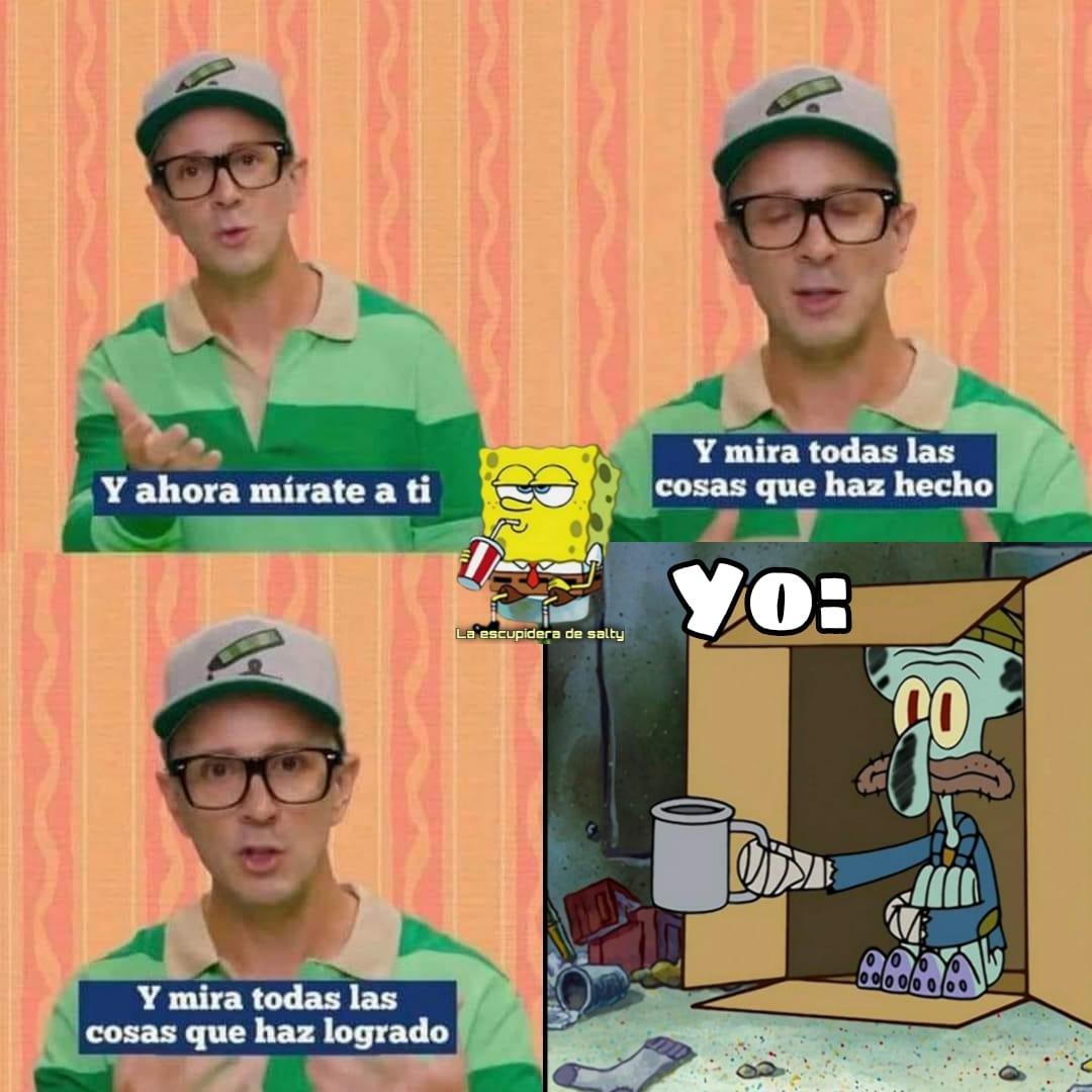 Memes de Steve de Las Pistas de Blue