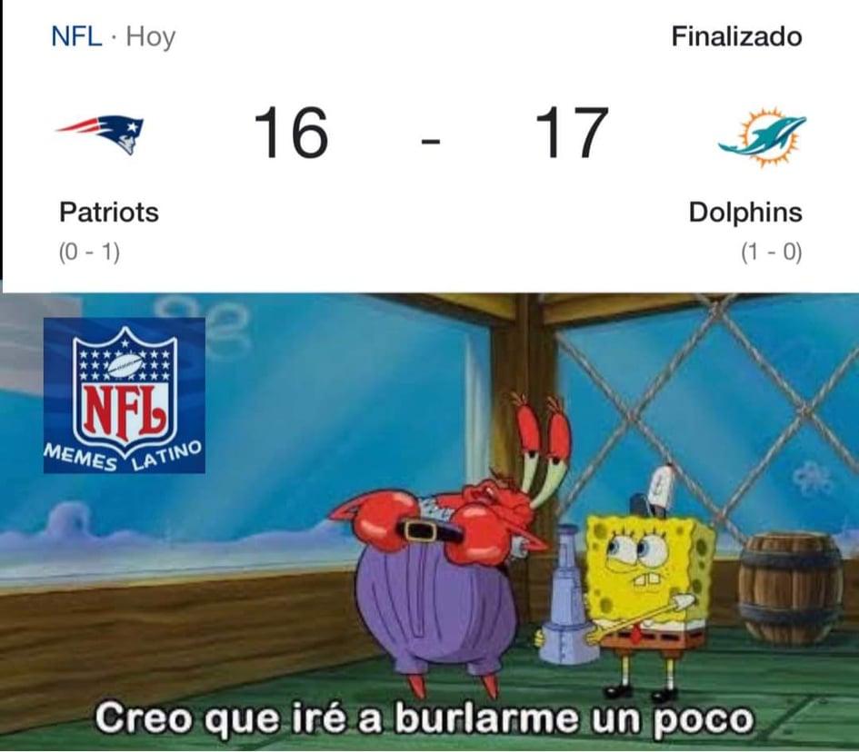 Memes de la NFL, Semana 1