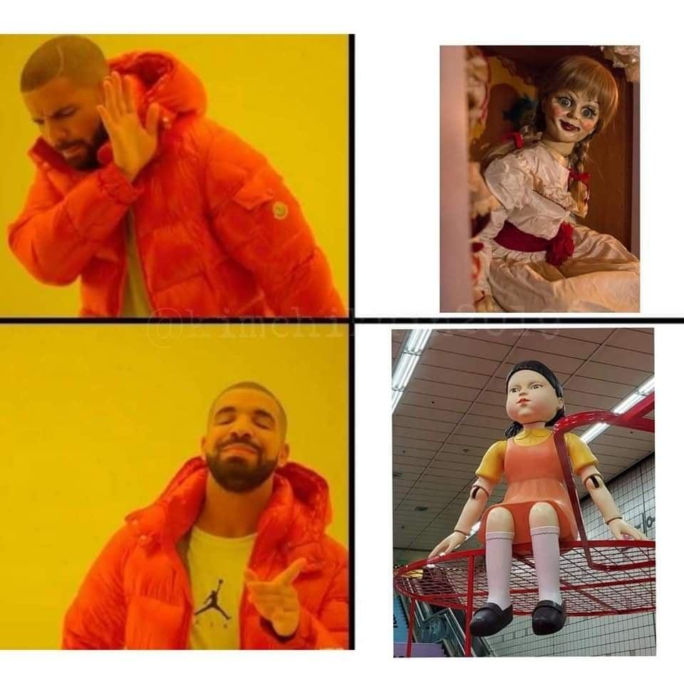 Memes del Juego del Calamar