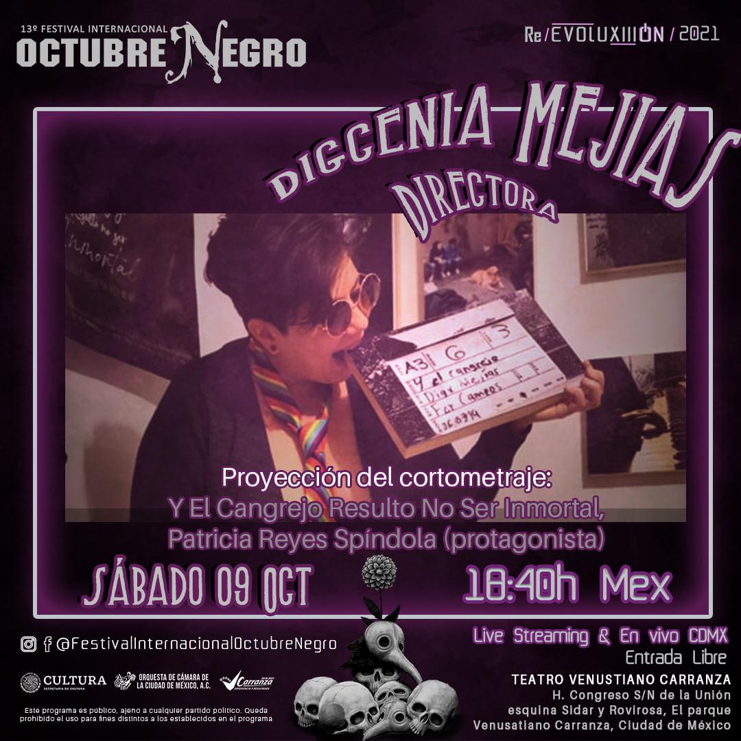 13ª Edición del Festival Octubre Negro 2021: Programa de actividades