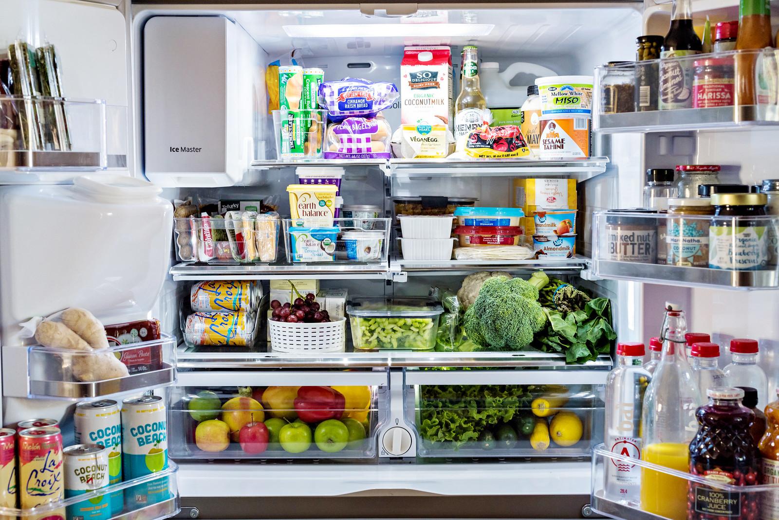 Capacidad del refrigerador